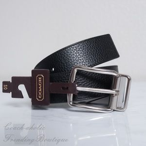 NWT Coach Harness Cut To Size Reversible Belt